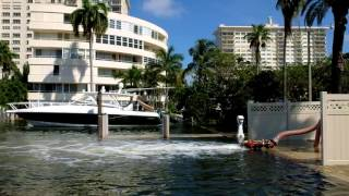 From youtube.com: Tidal Valves in Fort Lauderdale No Match for Supermoon Flooding Tidal valves installed in two Fort Lauderdale isle communities were not a match for this week's King Tides that were amplified by a Supermoon. Both Riviera