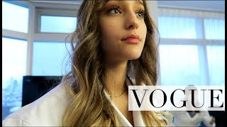 I had a meeting with VOGUE.. and my life changed.