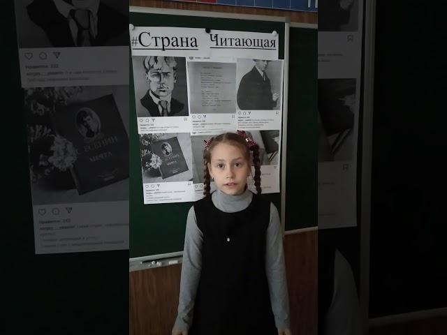 Изображение предпросмотра прочтения – СофияМахотина читает произведение «Берёза» С.А.Есенина
