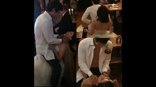 Wow!  Erwan Gone Wild in a Striptease dance with Anne!