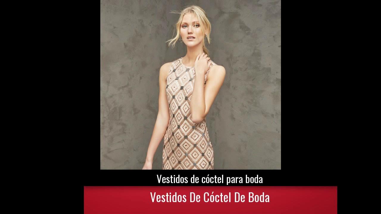 7d2d57040 Vestidos de cóctel para boda - YouTube