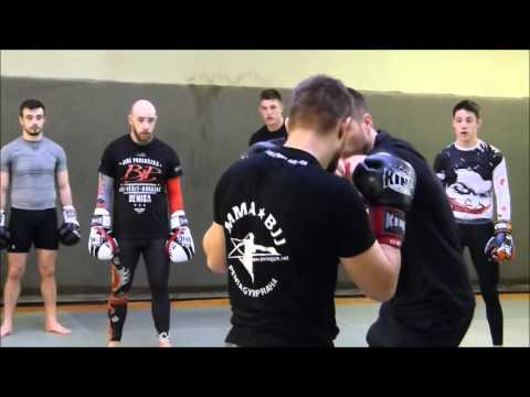My MMA life | MMA Sparring CZ 23. 1. 2016 - trenér Michal