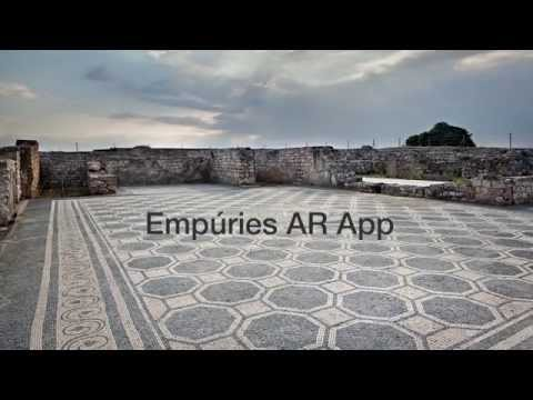 SPAIN-Empuries - Augmented Reality app at archaeological site (2015)