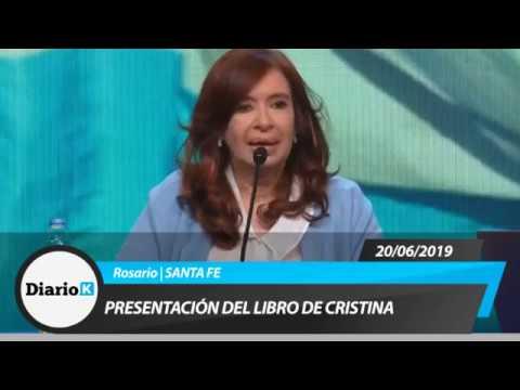 Cristina sobre Belgrano. Un poco de historia en la presentación de su libro en Rosario
