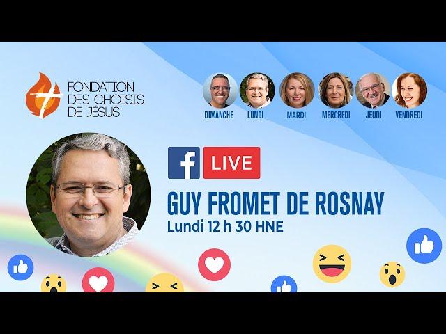 Facebook Live quotidien 11/01/2021 - Le Dieu du passé, du présent et de l'avenir
