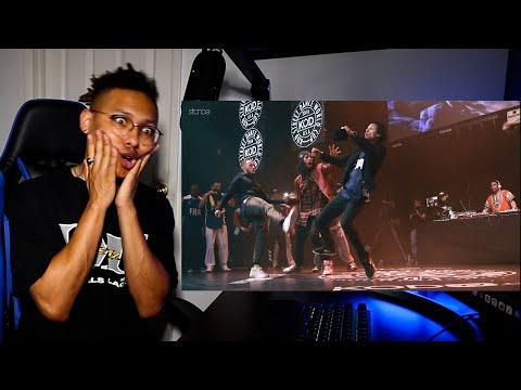 Criminalz (FRANCE) vs CHINA [stance angle] // KOD 2016 semifinal hip hop REACTION !!!