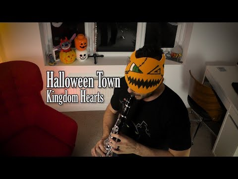 Kingdom Hearts - Halloween Town (flute/clarinet cover)