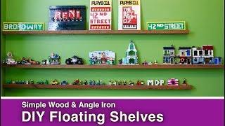 Easy Floating Shelf