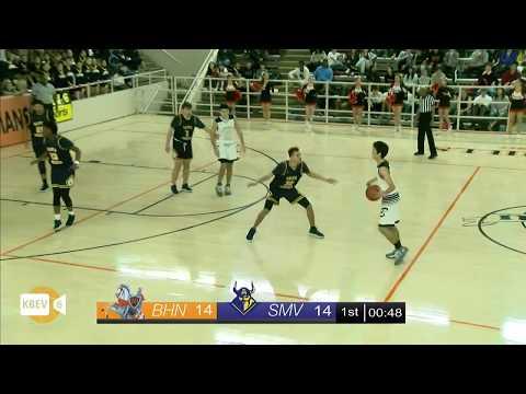 BHHS Vs. SAMOHI BOYS Varsity Basketball Game (HD)