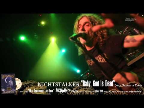 "NIGHTSTALKER ""Baby, God is Dead"" METAL HAMMER DVD March issue (No.363)"