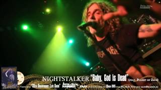 "NIGHTSTALKER ""Baby, God is Dead"" METAL HAMMER DVD March issue (No.363)"
