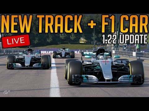 Gran Turismo Sport: New Update 1.22 (Mercedes F1 Car + Sainte-Croix Circuit + 6 cars)