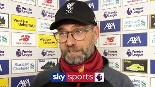 'There is nothing to celebrate yet!' - Jurgen Klopp on Liverpool's nervy 2-1 win over Brighton