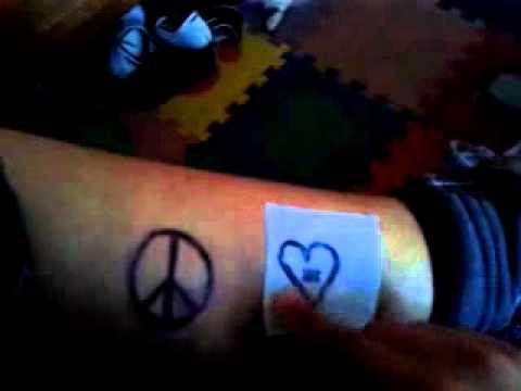Tatuajes Temporales Hechos En Casa tutorial ummf: como hacer un tatuaje temporal casero - youtube