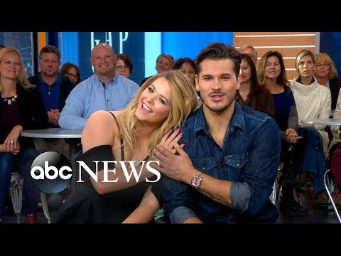 'DWTS' stars Sasha Pieterse, Gleb Savchenko speak out