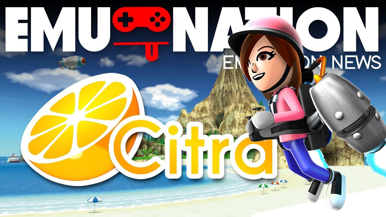 EMU-NATION: Pilotwings 3DS Playing on the Citra Emulator PC [BEST SETTINGS]