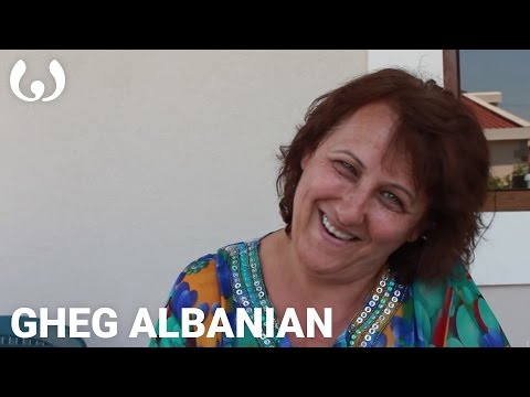 WIKITONGUES: Irena speaking Gheg Albanian
