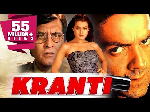 Kranti 2002 Full Hindi Movie  Bobby Deol, Vinod Khanna, Ameesha Patel, Rati Agnihotri