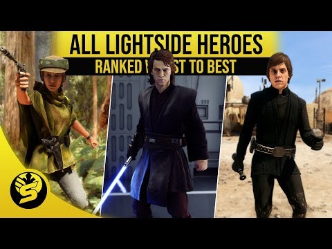 All Heroes Ranked from worst to best! - STAR WARS Battlefront 2 thumbnail