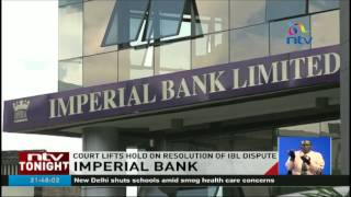 Imperial Bank's depositors a step closer to accessing their funds(Imperial Bank's depositors are a step closer to accessing their remaining funds after the High Court lifted the suspension of the process. Watch more NTV Kenya ..., 2016-11-08T19:26:26.000Z)