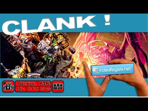 "Vidéorègle Jeu de Société "" Clank! "" par Yahndrev (#618)"