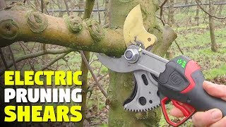 These electric shears can cut almost anything