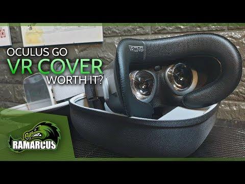 Oculus Go // Facial Interface & Foam Replacement Set / VRCover.com