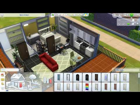 TINY MODERN ECO HOUSE! – The Sims 4 House build