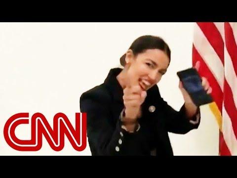 Rep. Ocasio-Cortez responds to critics with dance