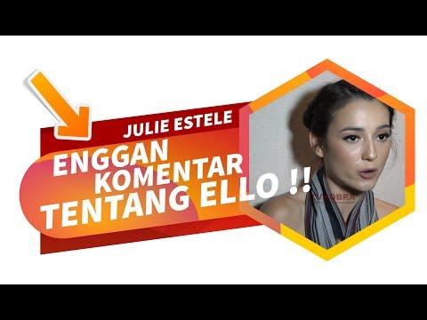 Julie Estelle Enggan Berkomentar Mengenai Kondisi Ello, Apakah Hubungan Mereka Kandas?