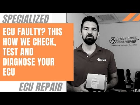 Dead or Faulty ECU? Here are a few ideas and solutions