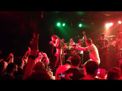 E.N YOUNG &TRIBAL SEEDS -imagine peace . At knitting factory Brooklyn NYC 08-13-14