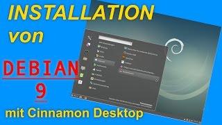 Installation von Debian 9 (Testing) mit dem Cinnamon Desktop | Linux Betriebssystem