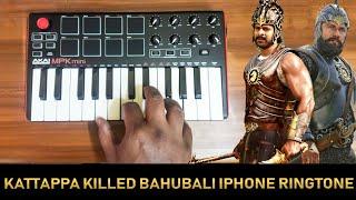 Kattappa Killed bahubali   iPhone Ringtone Remix By Raj Bharath #Prabhas,Anushka Shetty SS Rajamouli