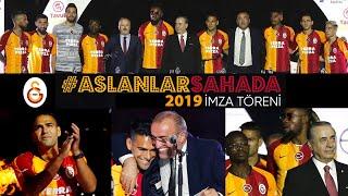 🦁 #AslanlarSahada İmza Töreni - Galatasaray