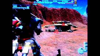 Ps3 game GUNDAM BATTLE OPERATION day 88 MS 018 E Kampfer in Action