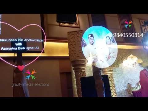 3d  HOLOGRAPHIC AIR DISPLAY (IDEAL CONVENTION CENTER - MALAY