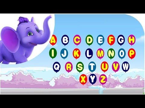 Alphabet Song - Nursery Rhyme with Karaoke