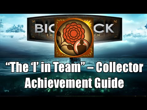 Bioshock The Collection The I in Team Collector Achievement Guide |