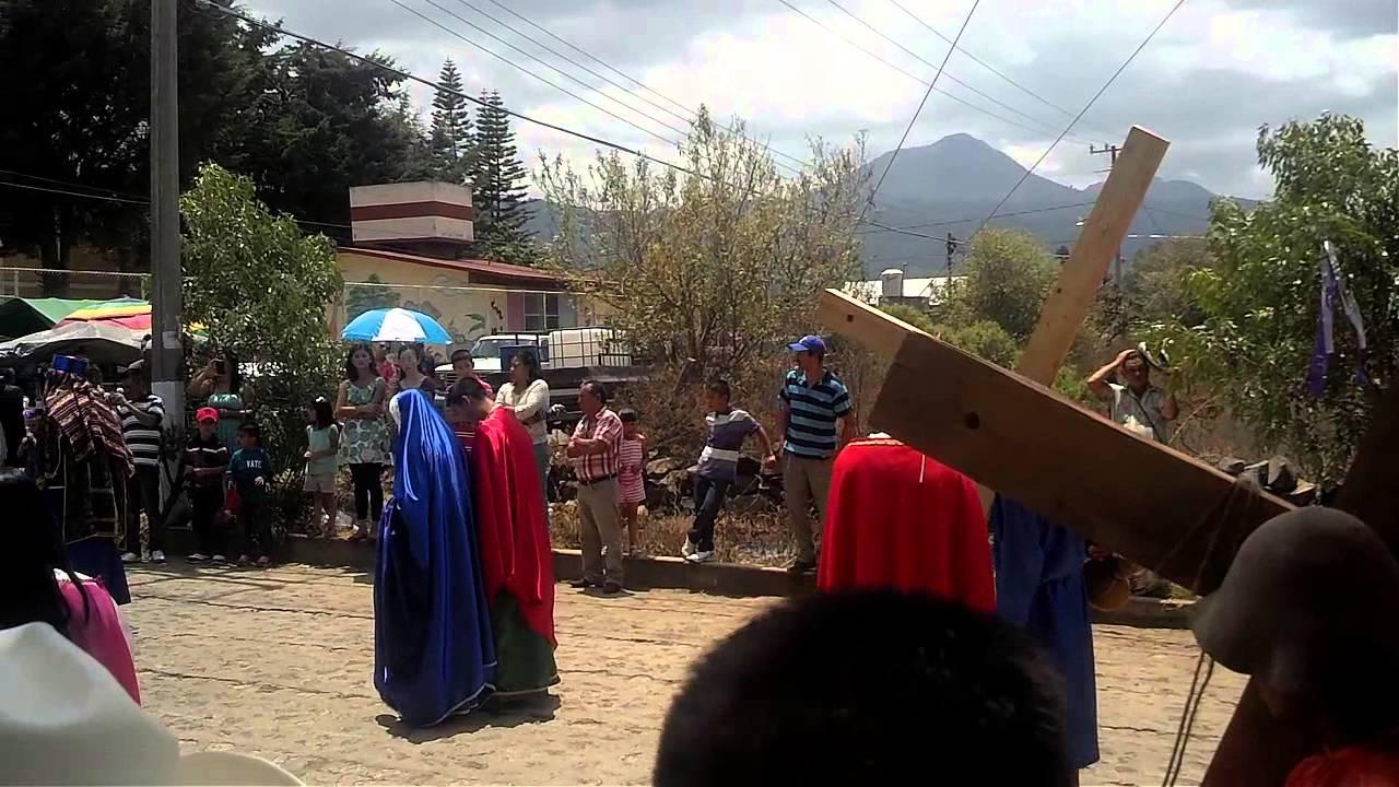 Semana Santa En Acuitzio Del Canje Michoacan 2014 Youtube