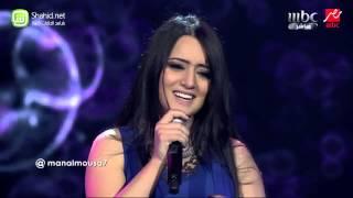 Arab Idol   منال موسى   روح وروح   الحلقات المباشرة