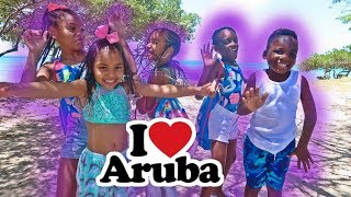 FUN POOL DAY with friends in Aruba ft. Super Siah and Pierre Sisters