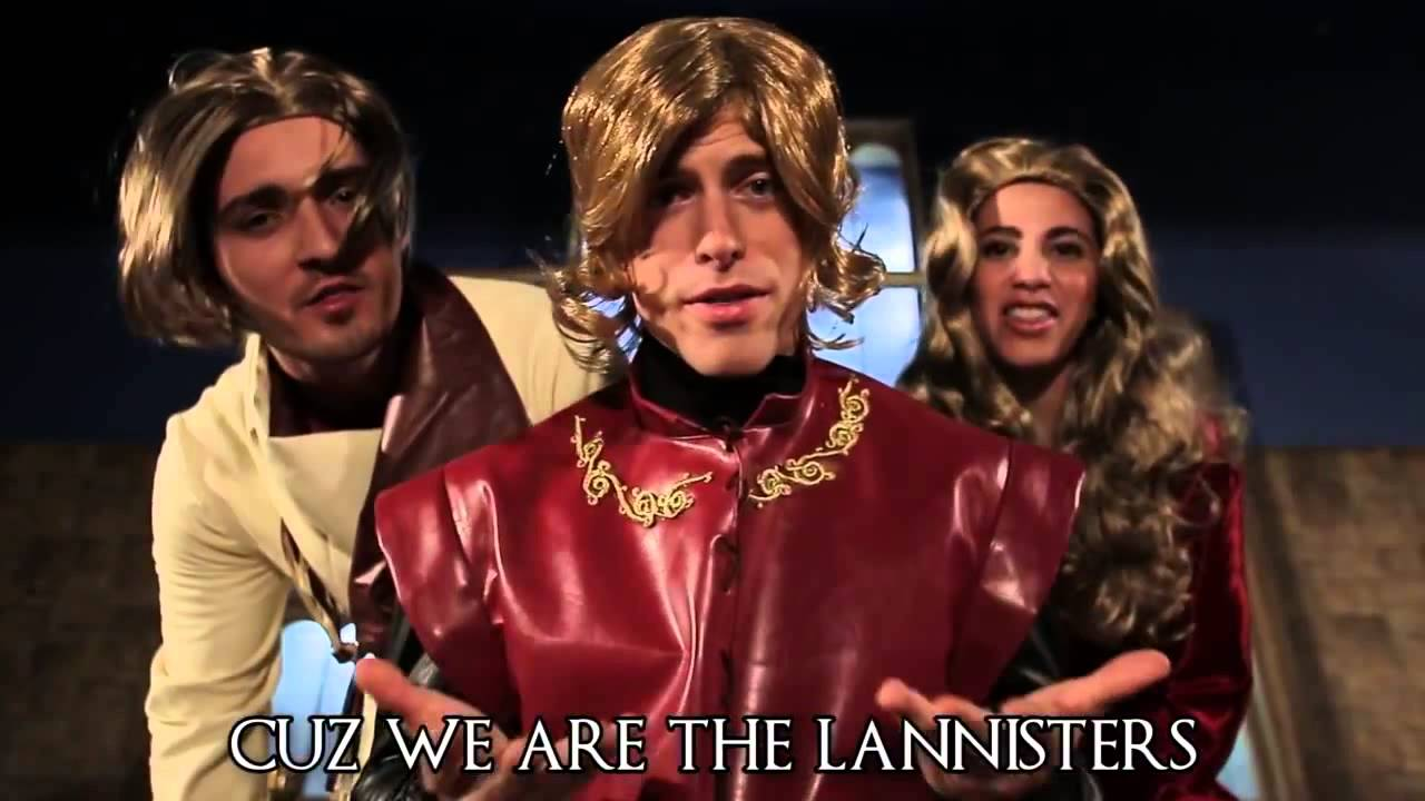 "Image from ""GAME OF THRONES MEDLEY (Monster, Roar, Demons, & Titanium Parody)"""