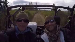 Breaking in the new Arctic Diggers Treasure wagon in Alaska