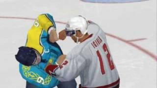 NHL 09 Fights