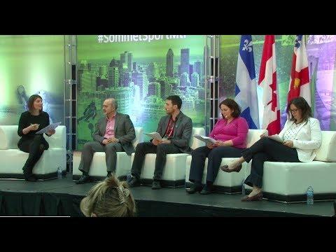 SOMMET DU SPORT DE MONTRÉAL 2018: PANEL , L'impact et la complémentarité des interventions...