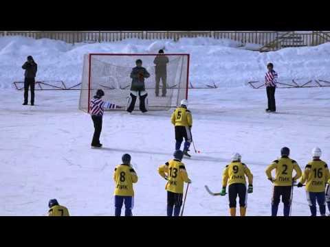 Мини-хоккей с мячом Сыктывкара (Финал). Комигаз - Ветераны. (серия пенальти)