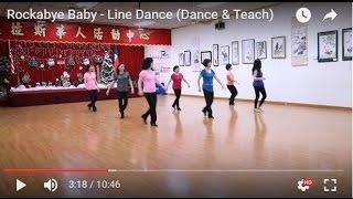 rockabye baby line dance dance teach