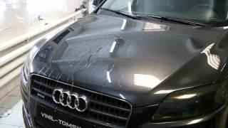 Audi Q7, покрытие жидким стеклом(Покрытие