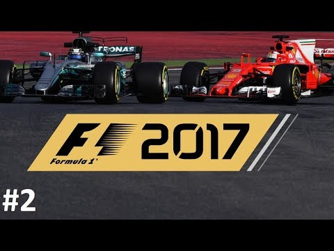 F1 2017 COOP 👥 // R02: CHINA GP 🇨🇳 // FERRARI vs MERCEDES with AMG // #2